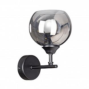 Светильник настенный V4318-1/1A, 1хЕ27 макс. 60Вт чёрный матовый Vitaluce