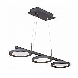 Светодиодный светильник V4622-1/3S, LED 32Вт, 3900-4200К черный матовый Vitaluce