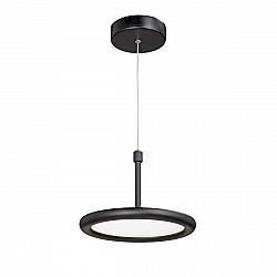 Светодиодный светильник V4604-1/1S, LED 10Вт, 3800K чёрный матовый Vitaluce