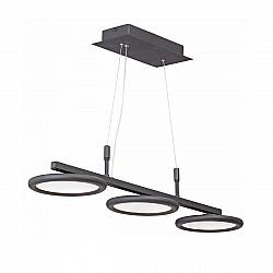 Светодиодный светильник V4623-1/3S, LED 32Вт, 3900-4200К черный матовый Vitaluce