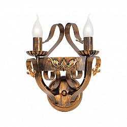 Светильник настенный V1350/2A, 2xE14 макс. 60Вт бронза Vitaluce