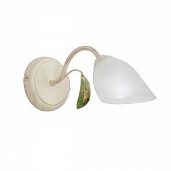 Светильник настенный V3232/1A, 1xE14 макс. 40Вт, плафон ПП бежевая с золотом Vitaluce