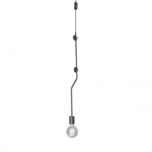 Светильник настенный V4398-1/1A, 1хЕ27 макс. 60Вт чёрный матовый Vitaluce