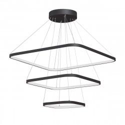 Светодиодный светильник V4617-1/3S, LED 135Вт, 3500-4000K черный матовый Vitaluce