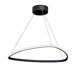 Светодиодный светильник V4624-1/1S, LED 34Вт, 3900-4200К черный матовый Vitaluce