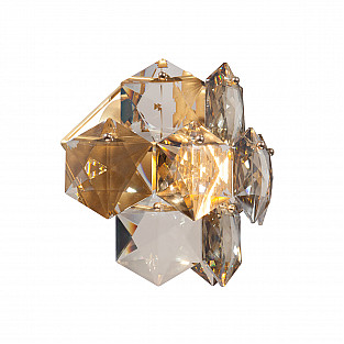 Светильник настенный V5286-8/1A, 1хЕ14 макс. 40Вт золото Vitaluce