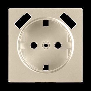 Накладка для USB розетки (шампань) WL11-USB-CP
