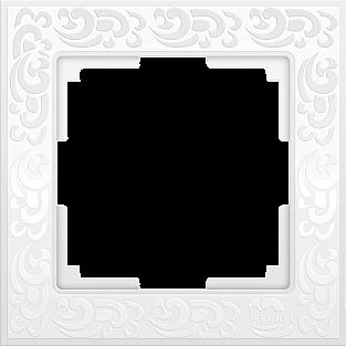 Рамка на 1 пост (белый) WL05-Frame-01-white