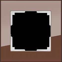 Рамка на 1 пост (мокко) WL01-Frame-01