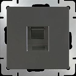 Телефонная розетка RJ-11 (серо-коричневый) WL07-RJ-11