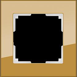 Рамка на 1 пост (бронзовый) WL01-Frame-01