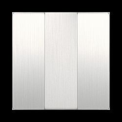 Набор клавиш для выключателя трехклавишного (перламутровый рифленый) WL13-SW-3G-CP