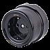 Розетка с заземлением и шторками (черный) Ретро WL18-03-02