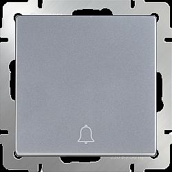Кнопка звонка (серебряный) WL06-04-01