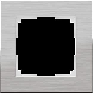 Рамка на 1 пост (алюминий) WL11-Frame-01