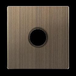 Накладка для TV розетки оконечной (бронзовый) WL12-TV-CP