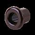 Втулка для вывода кабеля из стены 2 шт. (коричневый) Ретро WL18-18-01