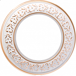 Рамка на 1 пост (белое золото) WL70-frame-01