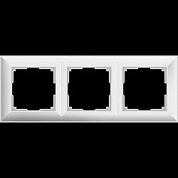 Рамка на 3 поста (белый) WL14-Frame-03