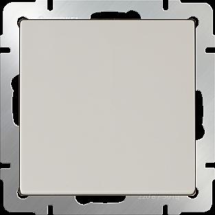 Выключатель одноклавишный (слоновая кость) WL03-SW-1G-ivory