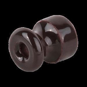 Изолятор 10 шт.(коричневый) Ретро WL18-17-01