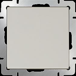 Перекрестный переключатель одноклавишный (слоновая кость) WL03-SW-1G-С-ivory
