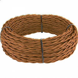 Ретро кабель витой 3х1,5 (медный) Ретро кабель витой 3х1,5 (медный)