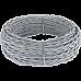 Ретро кабель витой 2х1,5 (серый) Ретро кабель витой 2х1,5 (серый)
