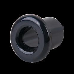 Втулка для вывода кабеля из стены 2 шт.(черный) Ретро WL18-18-01