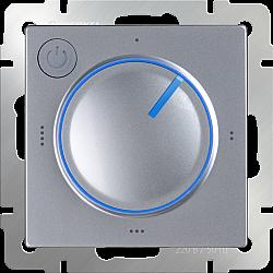 Терморегулятор электромеханический для теплого пола (серебряный) WL06-40-01