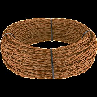 Ретро кабель витой 2х1,5 (медный) Ретро кабель витой 2х1,5 (медный)