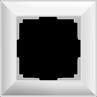 Рамка на 1 пост (белый) WL14-Frame-01