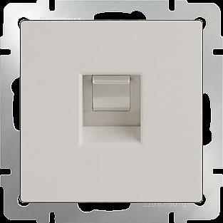 Розетка Ethernet RJ-45 (слоновая кость) WL03-RJ-45-ivory