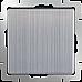 Выключатель одноклавишный (глянцевый никель) WL02-SW-1G