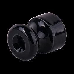 Изолятор 10 шт. (черный) Ретро WL18-17-01