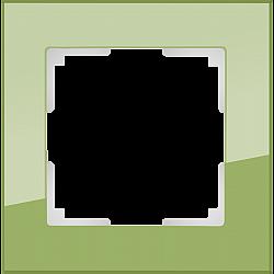 Рамка на 1 пост (фисташковый) WL01-Frame-01
