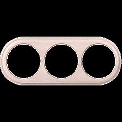 Рамка на 3 поста (беленый дуб) WL15-frame-03