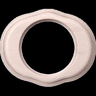 Рамка на 1 пост (беленый дуб) WL20-frame-01
