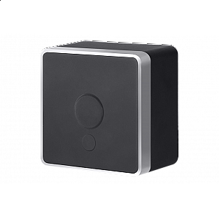 Вывод кабеля Gallant (черный с серебром) WL15-16-01