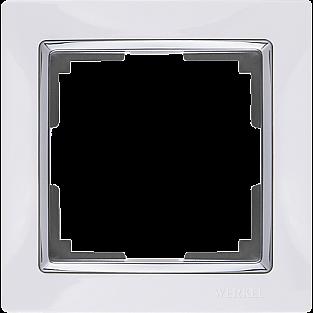 Рамка на 1 пост (белый) WL03-Frame-01-white