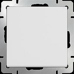 Перекрестный переключатель одноклавишный (белый) WL01-SW-1G-C