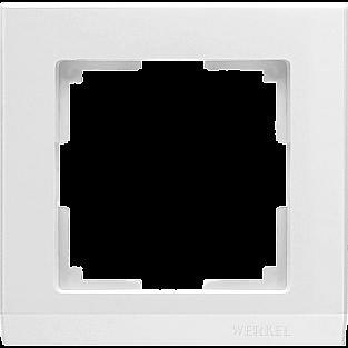Рамка на 1 пост (белый) WL04-Frame-01-white