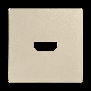 Накладка для розетки HDMI (шампань) WL11-HDMI-CP