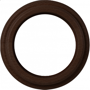 Рамка на 1 пост (венге) WL15-frame-01