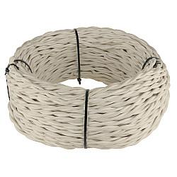 Ретро кабель витой 3х1,5 (песочный) Ретро кабель витой 3х1,5 (песочный)