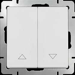 Выключатель жалюзи (белый) WL01-01-02
