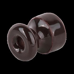 Изолятор 50 шт.(коричневый) Ретро WL18-17-01
