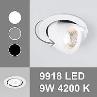Новинка! Точечные светильники с поворотно-выдвижным механизмом 9918 от Elektrostandard