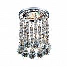Точечные светильники с хрусталем
