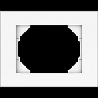 Рамка для выключателя Vilma 4779101510287 (белый)